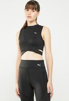 PUMA - Chase crossover crew top - black