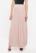 STYLE REPUBLIC - Pleated maxi skirt - pink