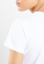 STYLE REPUBLIC - Nothing to wear T-shirt - white