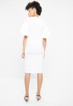 STYLE REPUBLIC - Volume sleeve dress - white