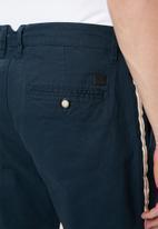 Jack & Jones - Ace arrow tape pants - navy