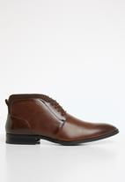 Gino Paoli - Steven lace-up boot - brown