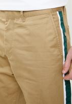 Jack & Jones - Ace regular fit side stripe pants - beige