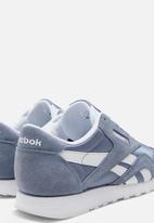 Reebok Classic - Cl Nylon - washed indigo/white/washed indigo