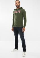 GUESS - Guess fashion hoodie - green