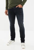 GUESS - Jay skinny jeans - black