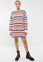 Missguided - Oversized sweater dress - multi