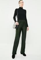 Jacqueline de Yong - Minna pants - black & green
