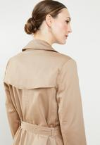edit - Trench coat - tan