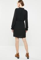 Jacqueline de Yong - Gorgeous longsleeve dress - black