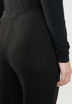 Jacqueline de Yong - Terra ankle sweat pant - black