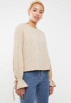 STYLE REPUBLIC - Utility style blouse - neutral