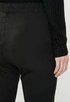 edit - Classic bootleg pants - black