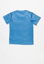 Nike - Nkb crossdye swoosh df tee - blue
