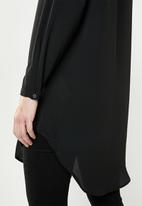 ONLY - Winner tunic top - black