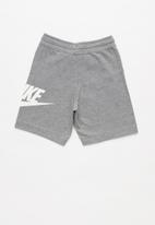 Nike - Nkb ya ft alumni short yth - grey