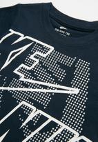 Nike - Nkb wrap around nike futura - navy & white