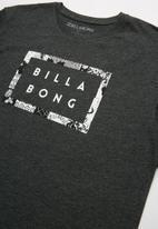 Billabong  - Border cut tee - black