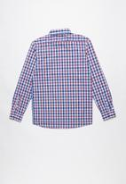 POLO - Brandon checked shirt - multi