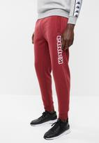 KAPPA - Kappa soccer Wincy trackpants - burgundy