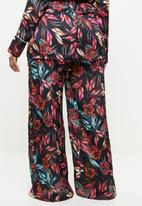 Missguided - Curve floral print trousers - multi