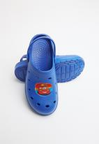 Character Fashion - Kids cars clog- blue