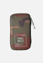 Herschel Supply Co. - Travel wallet - camo