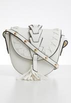 ONLY - Tassel crossbody bag - white