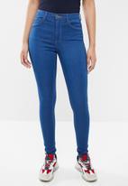 ONLY - Rain skinny jeans - blue