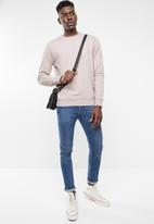 Only & Sons - Basic crew neck sweater - pink