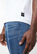 Only & Sons - Tetris short sleeve tee - white