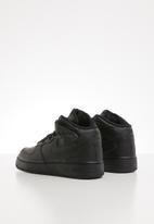 Nike - Nike air force 1 mid basketball sneaker - black