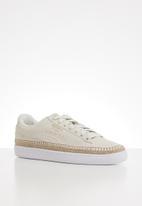 PUMA - Suede Sneakerdrille - marshmallow-puma white