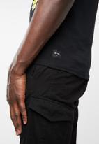Only & Sons - Tetris short sleeve tee - black