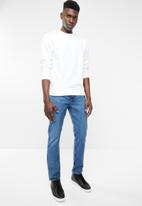Only & Sons - Basic crew neck sweater - white