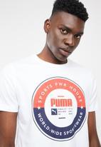 PUMA - Puma execution tee - white