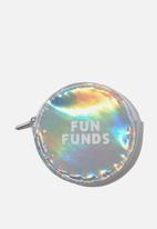 Typo - Fashion coin purse - silver