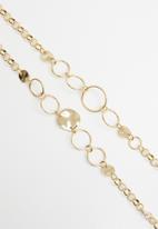 Superbalist - Jen multichain necklace - gold