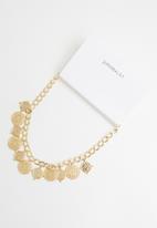 Superbalist - Medallion vintage chain - gold