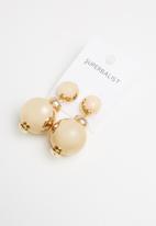 Superbalist - Drop earrings - gold