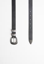 ONLY - Dylan pu belt acc - black