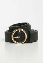 ONLY - Kie pu belt acc - black