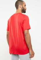 Under Armour - UA foundation short sleeve tee - red