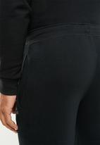 Reebok - Stacked logo pant - black