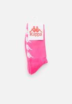 KAPPA - Authenitc amal socks - pink