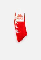KAPPA - Authenitc amal socks - red