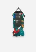 Stance Socks - Aloha leaves socks - green
