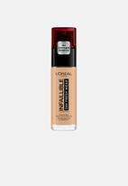L'Oreal Paris - Infallible 24hr liquid foundation - 140 golden beige