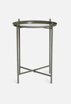 Sixth Floor - Dianara tray table - green