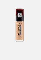 L'Oreal Paris - Infallible 24hr liquid foundation - 200 golden sand